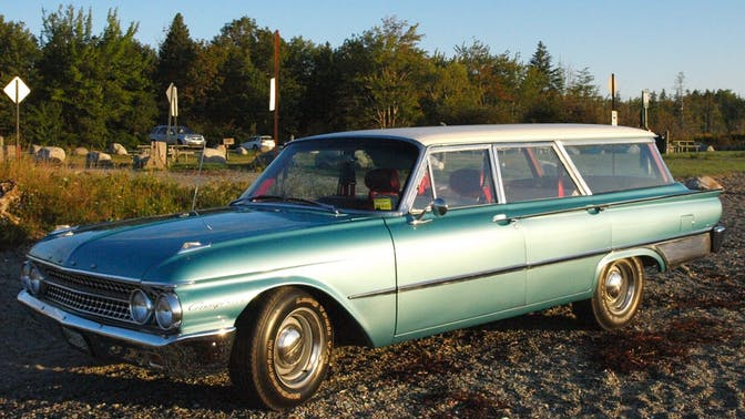 1961 Ford Country Sedan Wagon