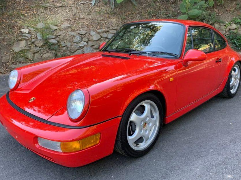 1992 Porsche Carrera 2 5-Speed