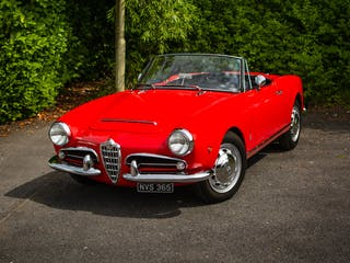 1963 Alfa Romeo Giulia Spider LHD