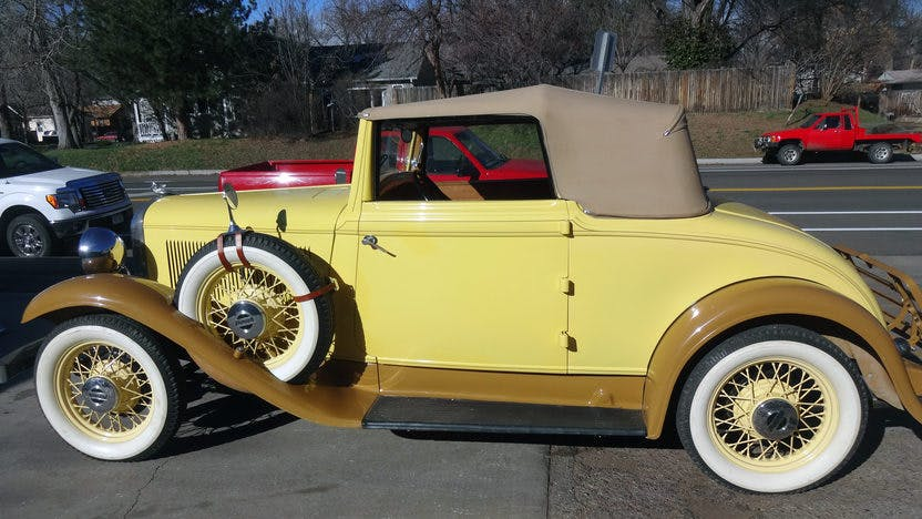 1932 Plymouth Roadster