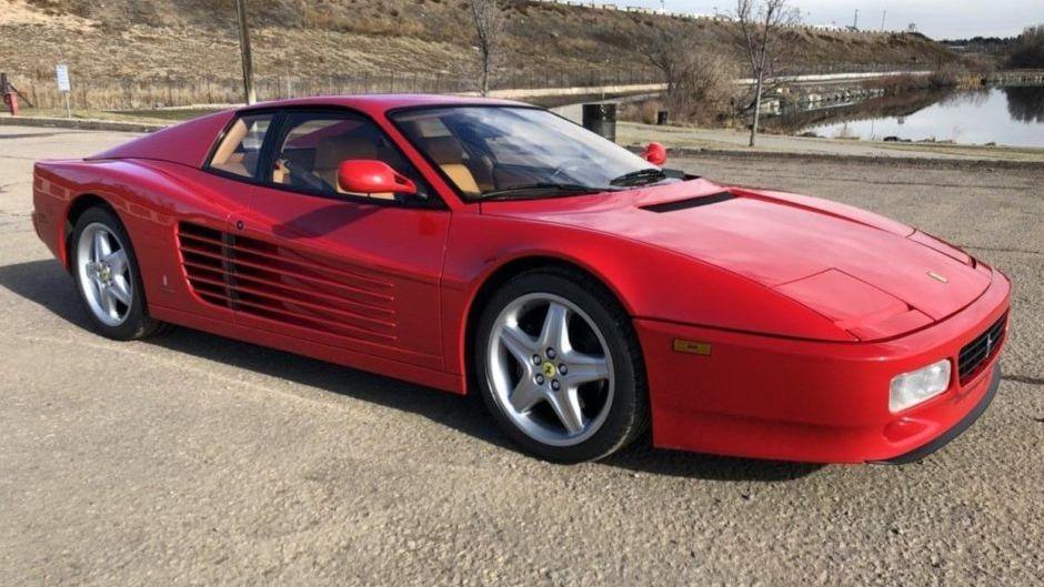 1992 Ferrari 512 Tr Vin Zfflg40a1n0092494 Classic Com