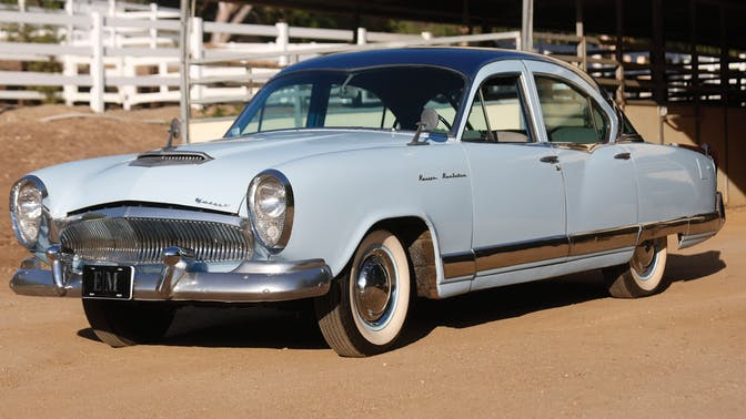 1954 Kaiser Manhattan Supercharged Sedan