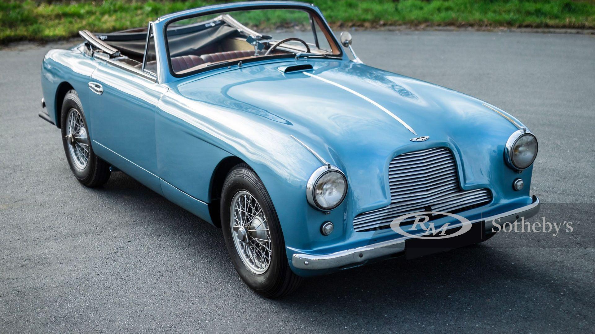 1955 Aston Martin Db2 4 Drophead Coupé Classic Com