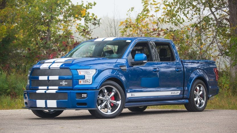 2017 Ford F150 Shelby Super Snake Pickup