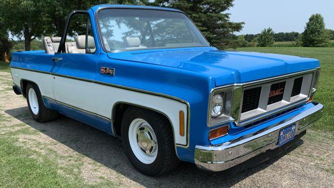 1974 Chevrolet Blazer 6-Speed
