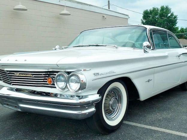 1960 Pontiac Bonneville Bubble Top