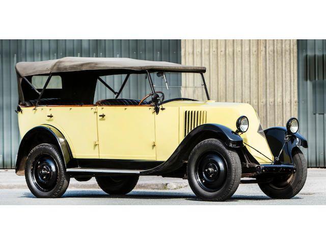 1929 Renault 6CV Torpedo