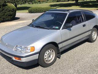 1989 Honda Crx Dx