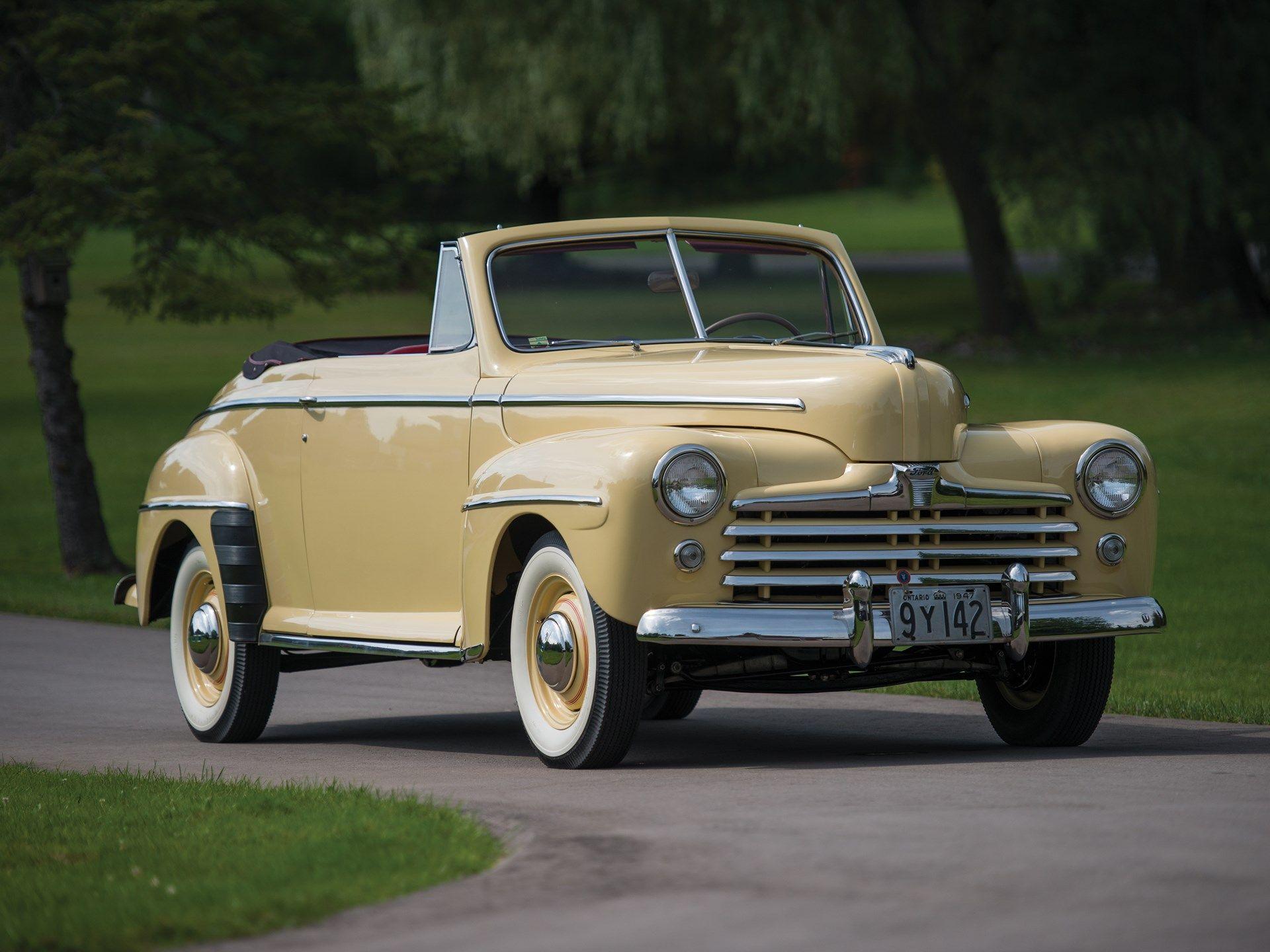 1947 Ford Super Deluxe Club Convertible Classic Com
