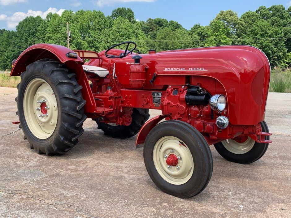 1960 Porsche-Diesel Standard Star 219 Tractor