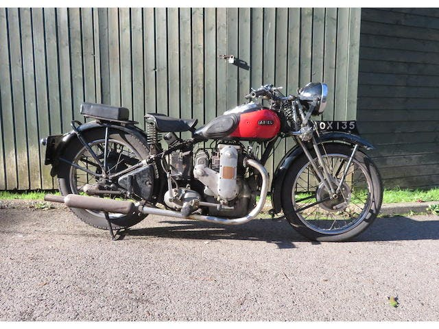 1935 Ariel 601CC Model 4F/6 Square Four