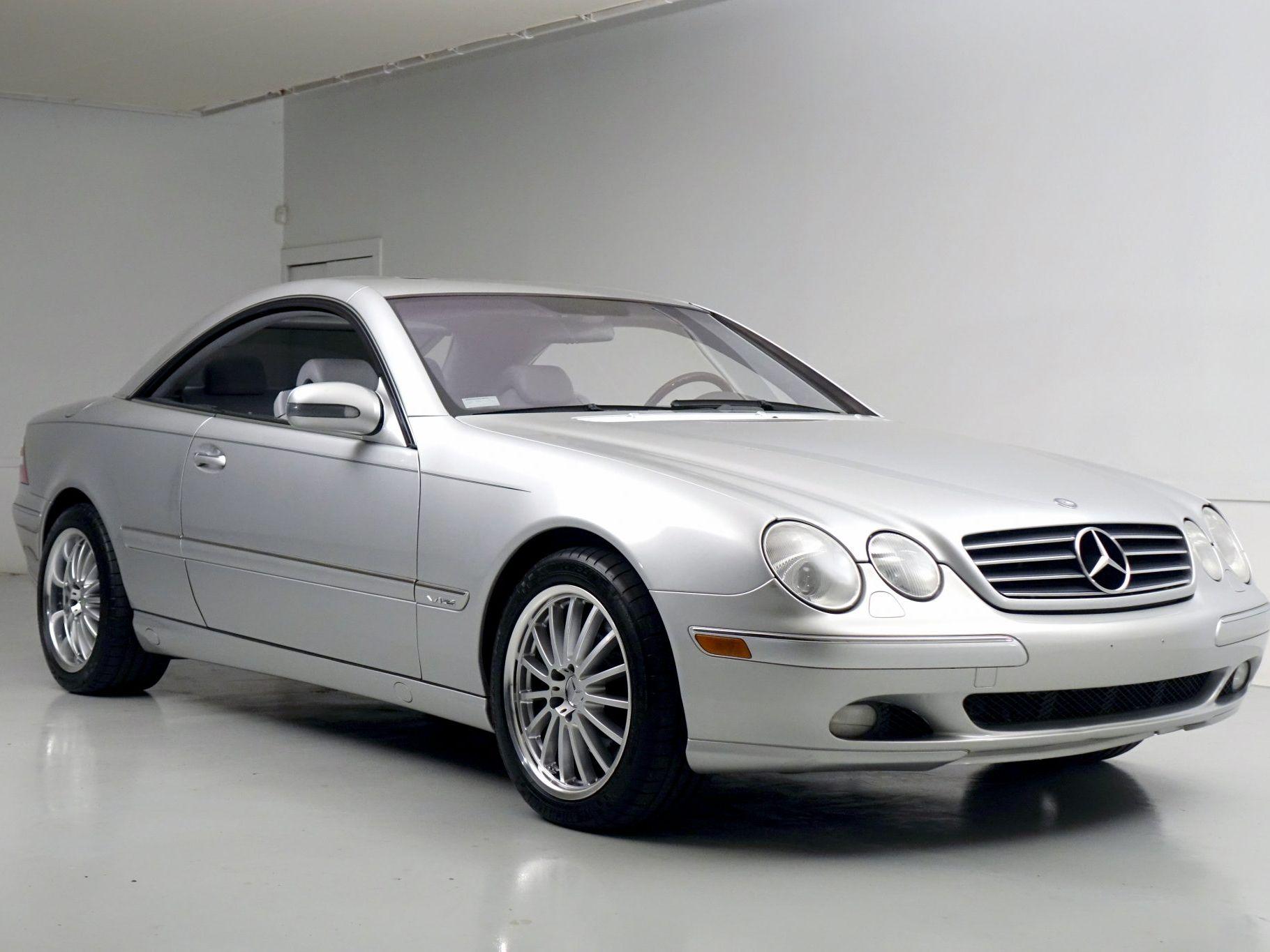 2002 Mercedes-Benz CL600