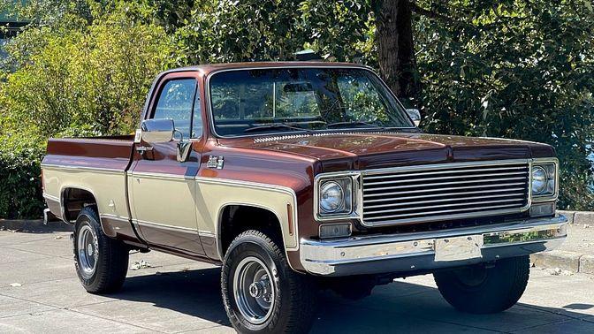 1977 GMC K1500 Sierra Grande