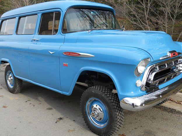 1957 Chevrolet Suburban NAPCO