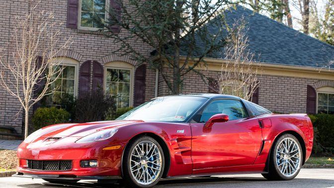2013 Chevrolet Corvette ZR1 3ZR