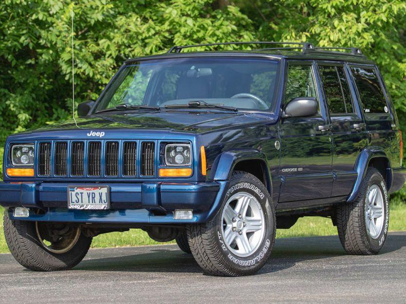 2001 Jeep Cherokee Limited 4.0l 4×4