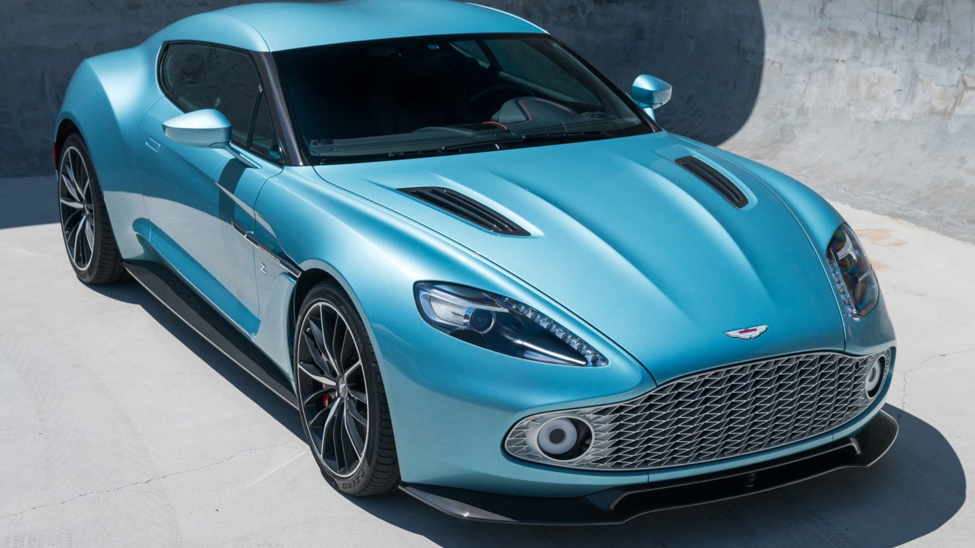 2018 Aston Martin Vanquish Zagato Coupe Vin Scflmcpz0jgj33889 Classic Com