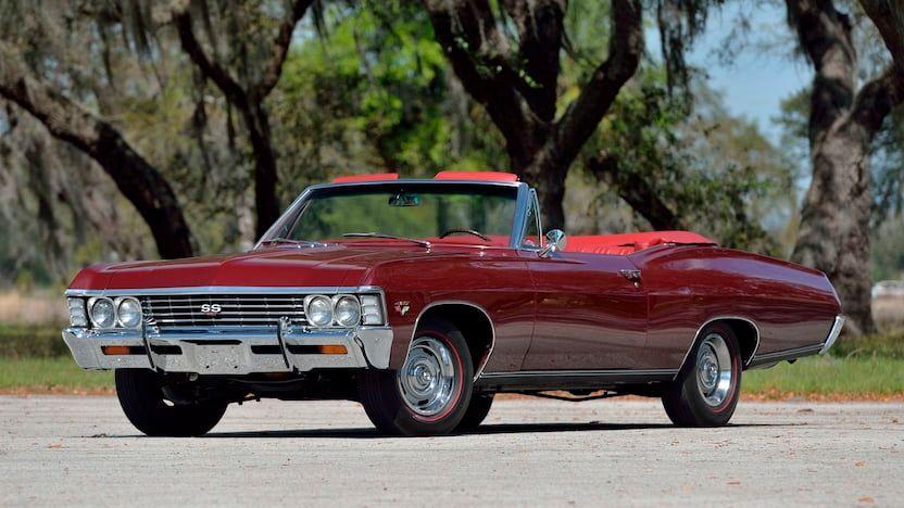 1967 Chevrolet SS427 Convertible