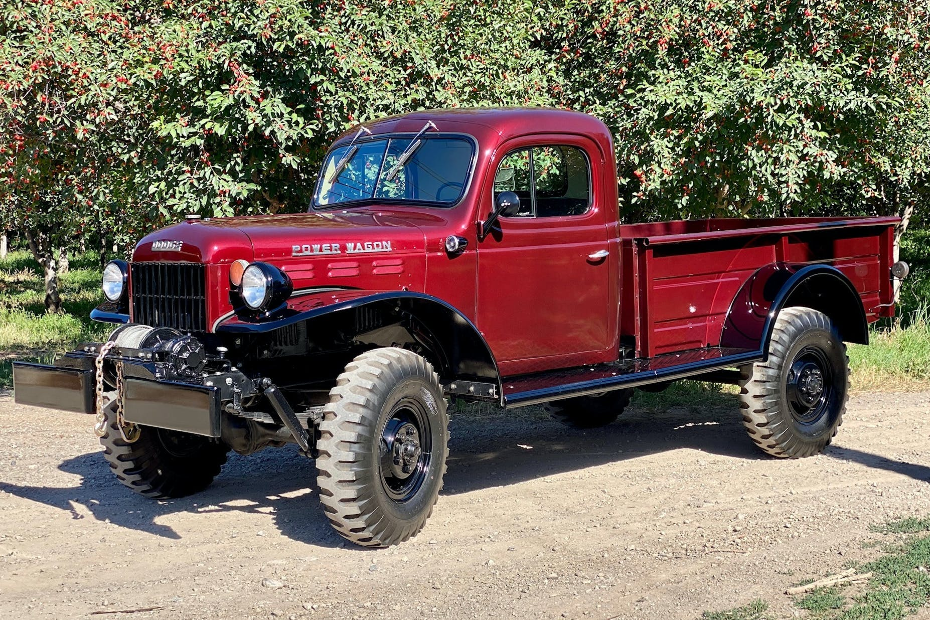 Dodge Power Wagon Market Classic Com