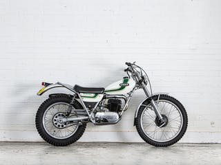 1976 Ossa 244CC Mar Trials Motorcycle