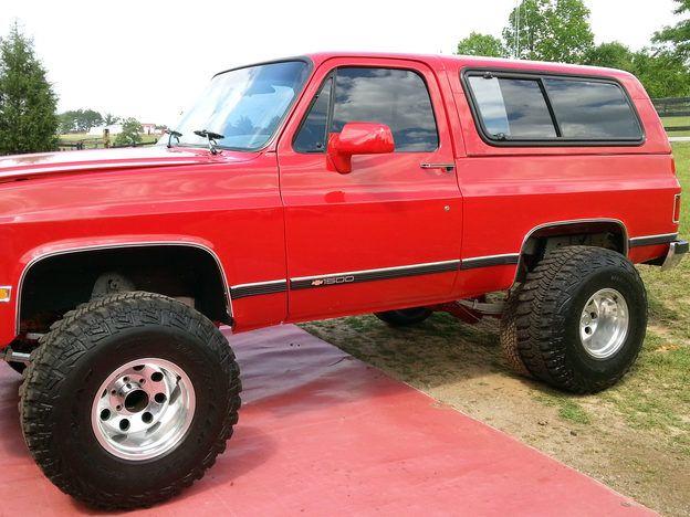 1991 Chevrolet K5 Blazer