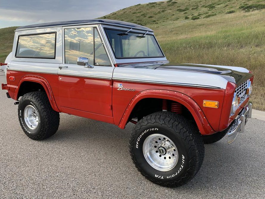 1972 Ford Bronco Baja Stroppe Re-Creation