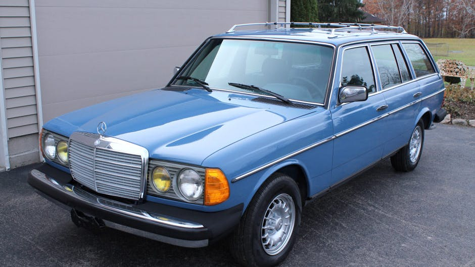 1983 Mercedes-Benz 300TD Turbo