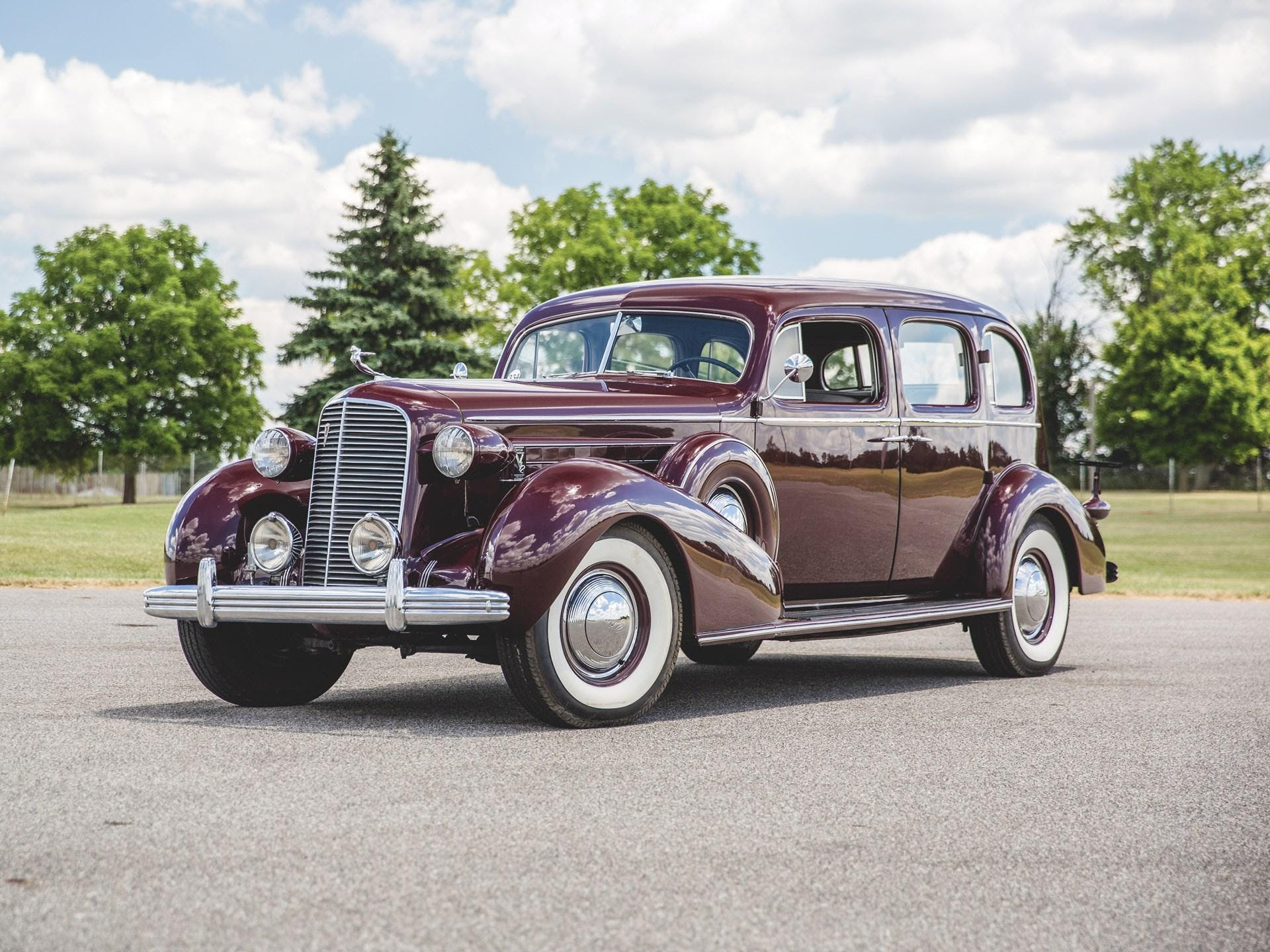 1936 Cadillac V-12 Town Sedan
