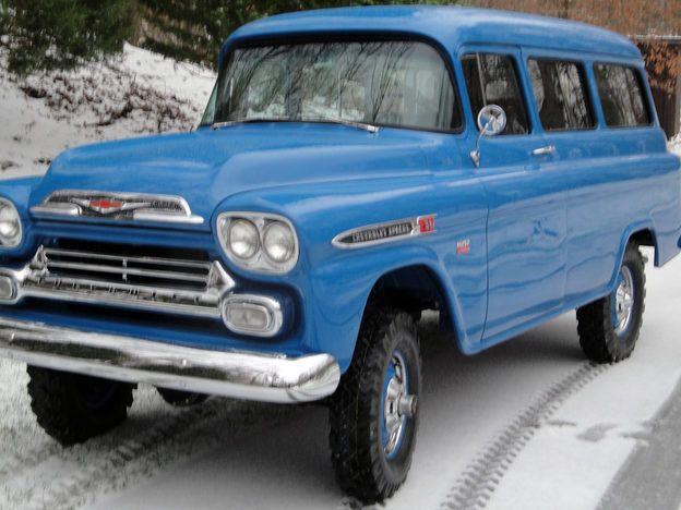 1957 Chevrolet NAPCO Suburban