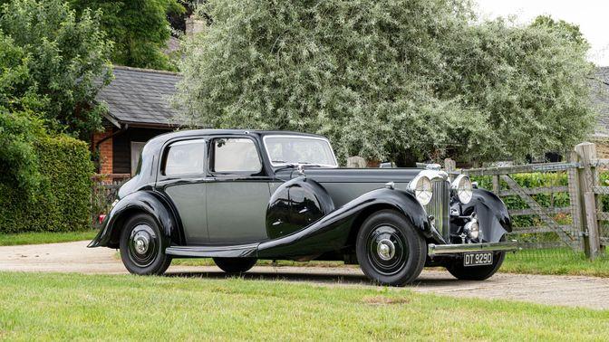 1937 Lagonda LG45 Saloon De Ville