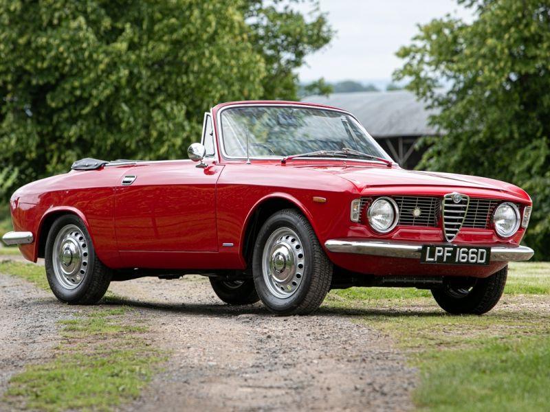 1966 Alfa Romeo Giulia GTC