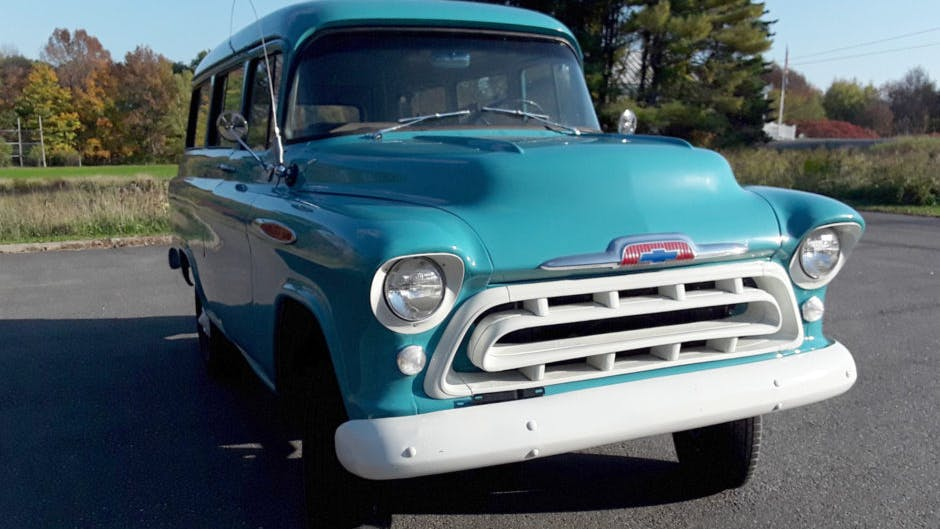 1957 Chevrolet Suburban NAPCO 4×4