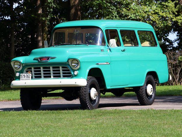 1955 Chevrolet Suburban NAPCO
