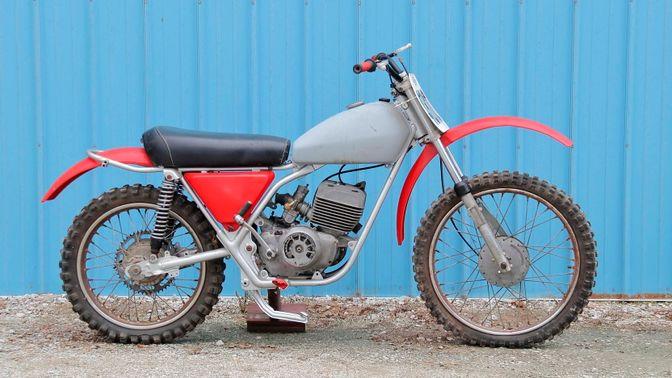 1975 Harley-Davidson SX250 Dirt Bike