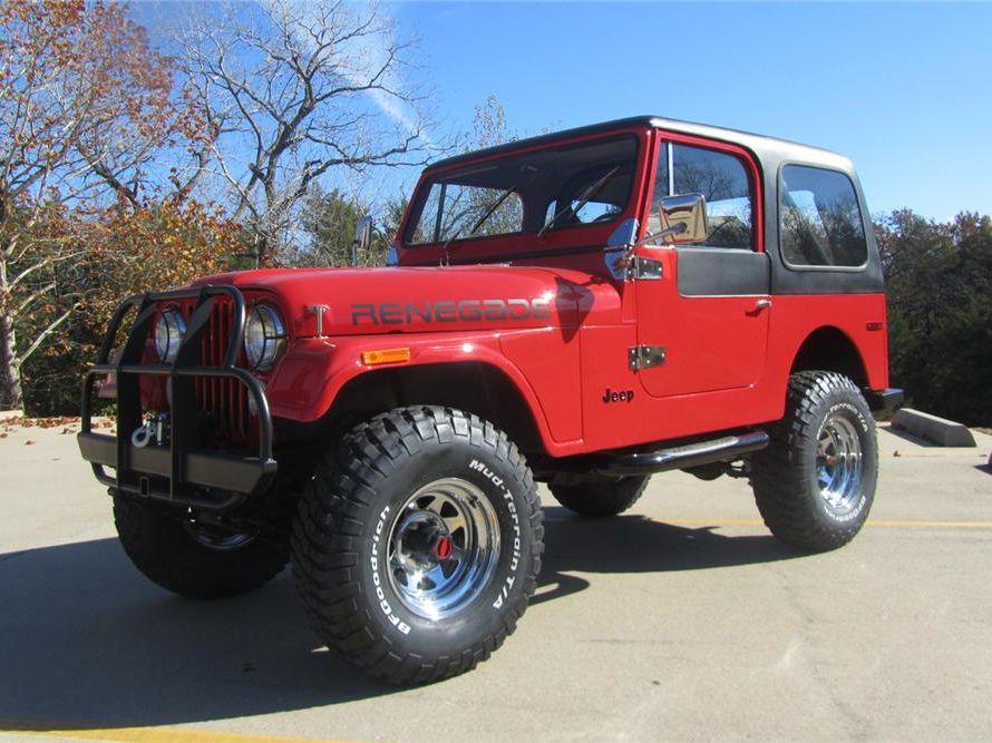 1980 Jeep CJ7 4X4