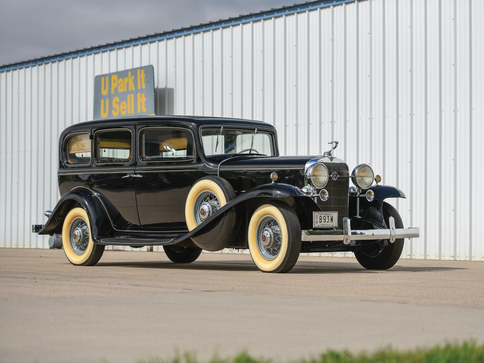 1932 Lasalle Series 345-B Imperial Seven-Passenger Sedan by Fisher