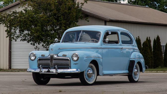 1942 Ford Super Deluxe Sedan
