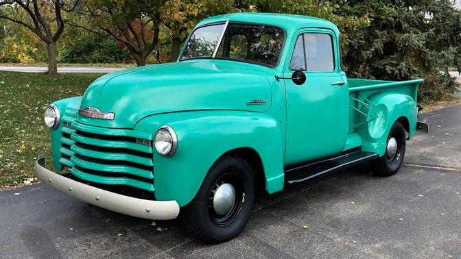 1953 Chevrolet 3100 5-Window Pickup