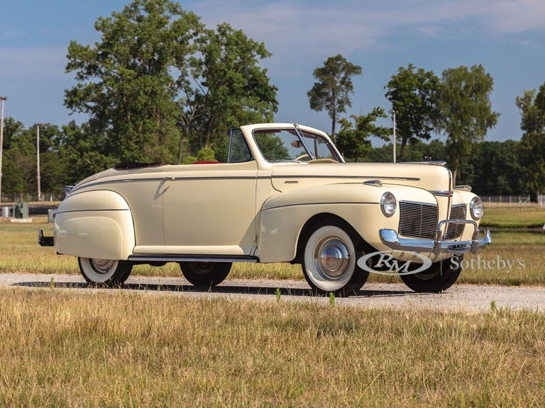 1941 Mercury Convertible