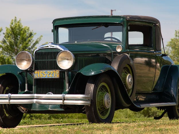 1931 Buick Series 90 Country Club Coupe