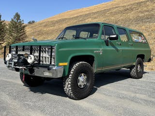 """1981 Chevrolet Suburban K20 From """"Road to Improvement"""""""
