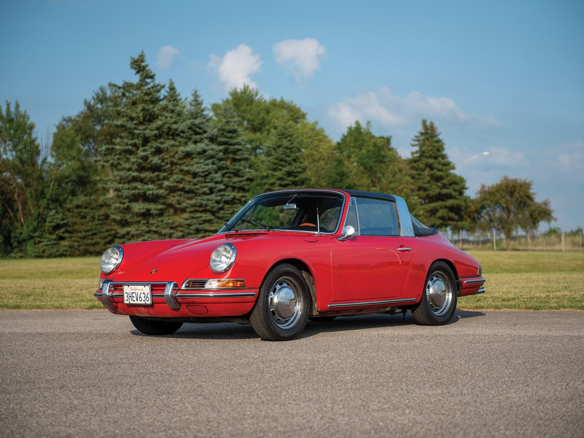 1967 Porsche 912 'Soft-Window' Targa