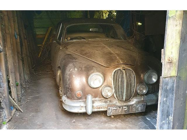 1961 Jaguar Mark 2 3.8-Litre Manual With Overdrive Saloon Project