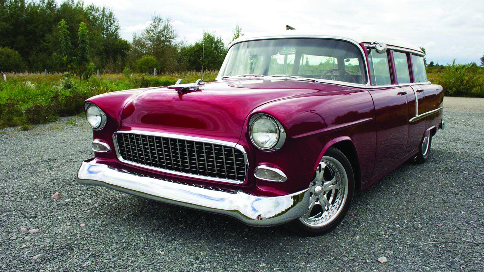 1955 Chevrolet 210 Four-Door Restomod