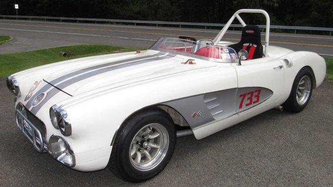 1959 Chevrolet Corvette Race Car