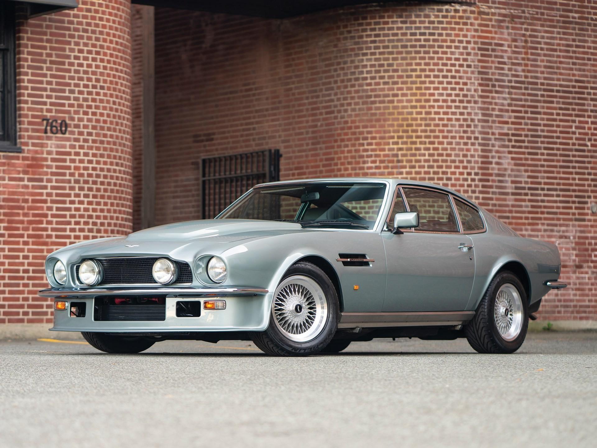 1989 Aston Martin Vantage Vin Scfcv81v3ktl12694 Classic Com