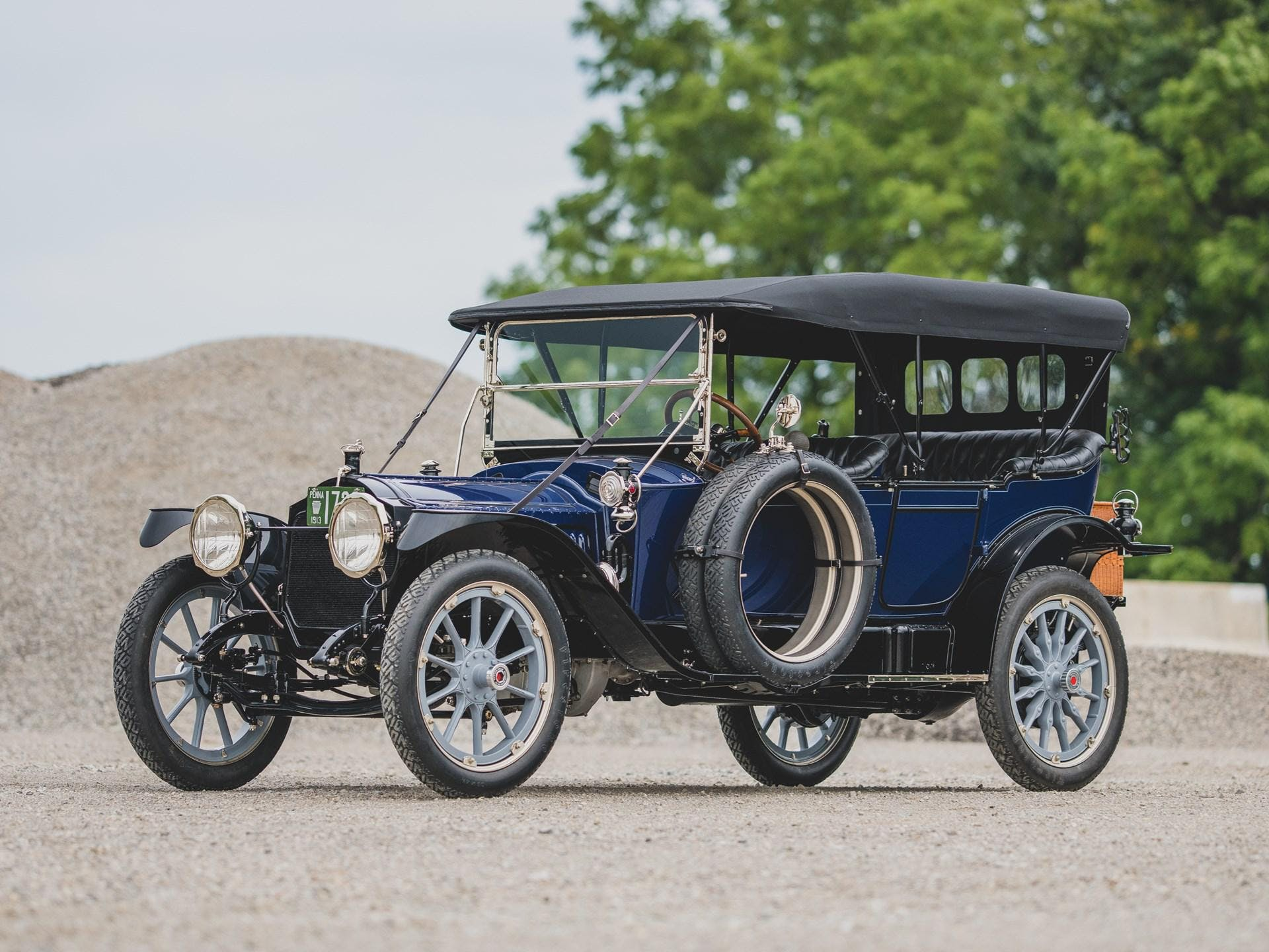 1913 Packard Model 38 Five-Passenger Phaeton
