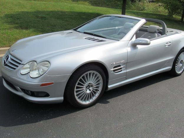 2005 Mercedes-Benz SL55 AMG Convertible