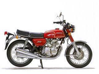 1975 Honda CB350F