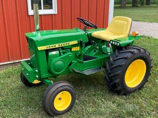 1966 John Deere 110 Tractor